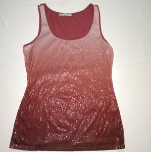 Maurice's Mauve Color Sequence Tank.